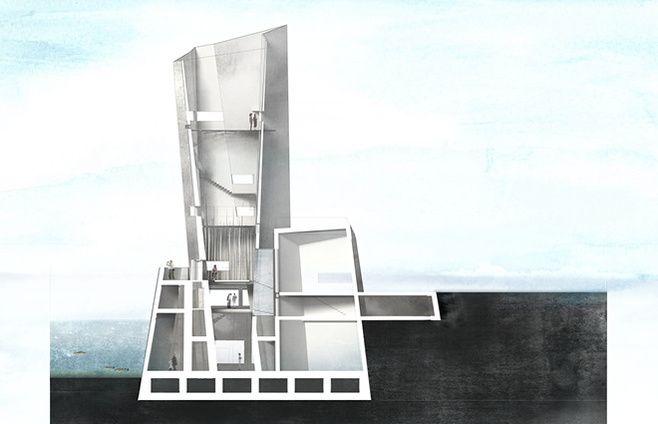 MARIE HOUMANN ERSTAD - Bygningssnit KADK