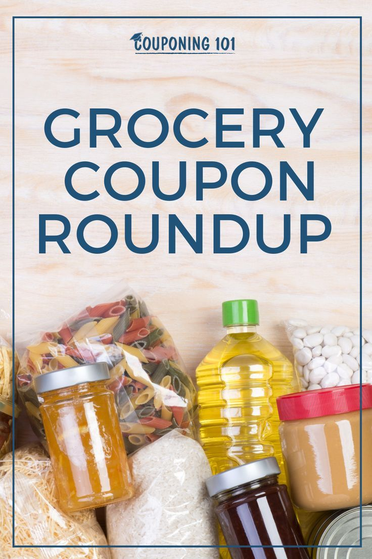 Sunday Grocery Coupon Roundup Couponing 101 Grocery Coupons Free Grocery Coupons Free Printable Grocery Coupons