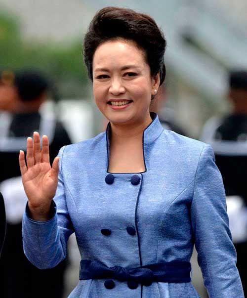 Пэн Лиюань жена президента Китая