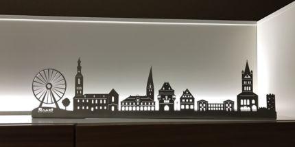Skyline Soest / Stadtbild / Edelstahl Wandbild in Dortmund – Dortmund-Hombruch  …