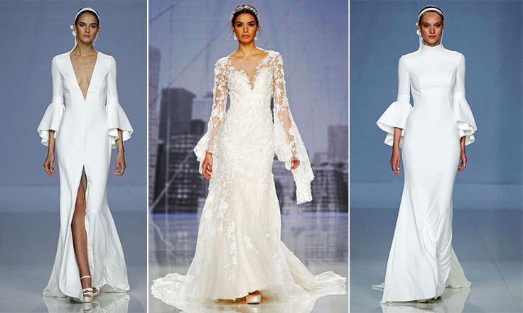 La tendencia #1 que domina todos los vestidos de novia - Foto 1