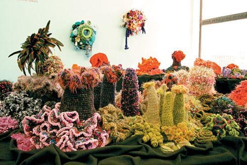 Искусство вязание крючком. Вязаный коралловый риф, вязаные часы и.... Обсуждение на LiveInternet - Российский Сервис Онлайн-Дневников