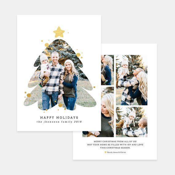 Christmas Card Photoshop Template Holiday Card Template Etsy Christmas Cards Photography Holiday Card Template Christmas Card Photoshop