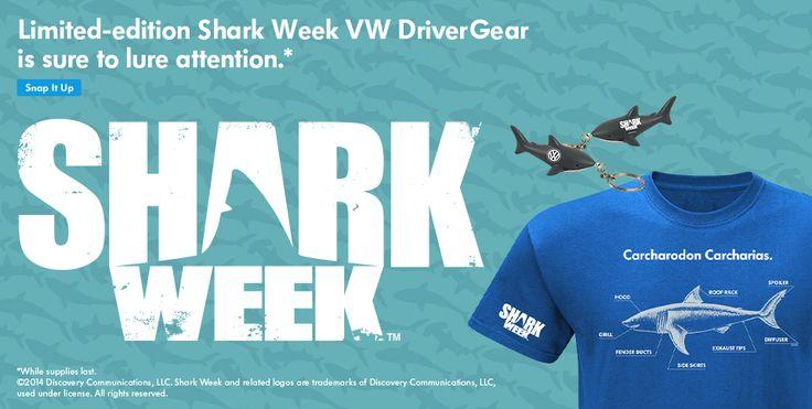 Top Ten Reasons To Watch Shark Week - http://blog.billjacobsvw.com/2014/08/06/top-ten-reasons-watch-shark-week/