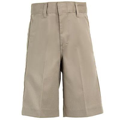 Dickies Boys' Flat Front Poly Blend Shorts 54562 KH