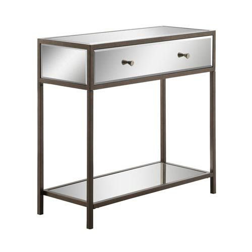 """Office Star Products Marquis Foyer Table 32""""X14""""X30H"""