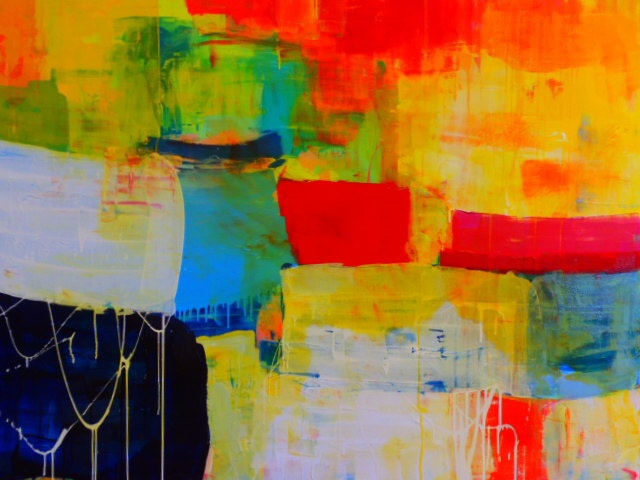 New painting by Kirsten Jackson now available from Thierry B. Fine Arts