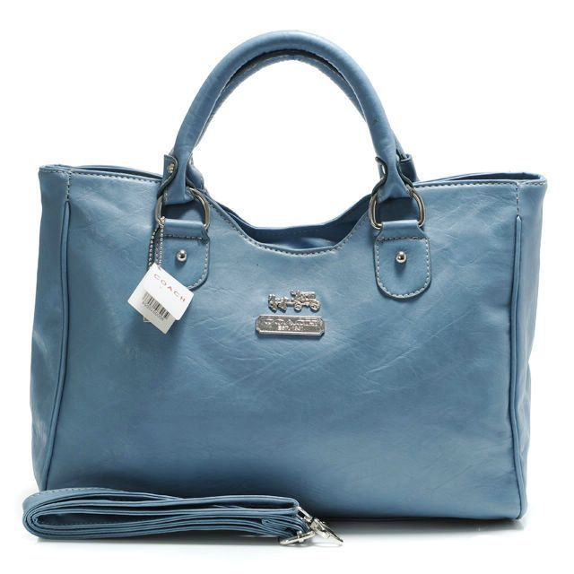 """Coach Legacy Large Blue Satchels ABZ [Coach0A1597] - Coach Legacy Large Blue Satchels ABZ Product Details This edgy update retains the classic luxury of the original, crafted in glove-tanned leather and finished with a secure zip-top, a fabric lining and archive-inspired handles. -Size:13 4/5"""" x 3 4/5"""" x 10 3/5""""-Leather-Top handles-Logo plate in front center-Zip-top closure,"""