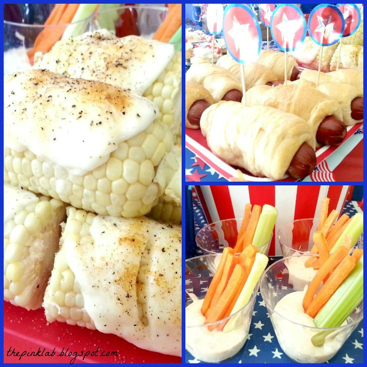 Fourth Of July Tablescape #4th of july #food #holiday #july fourth #fourth #dessert #decorating #tablescape #blog