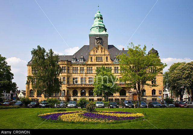 town hall of Recklinghausen, Germany, North Rhine-Westphalia, Ruhr Area, Recklinghausen