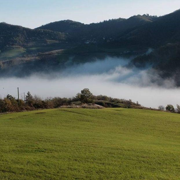 Nebbia giu nella valle