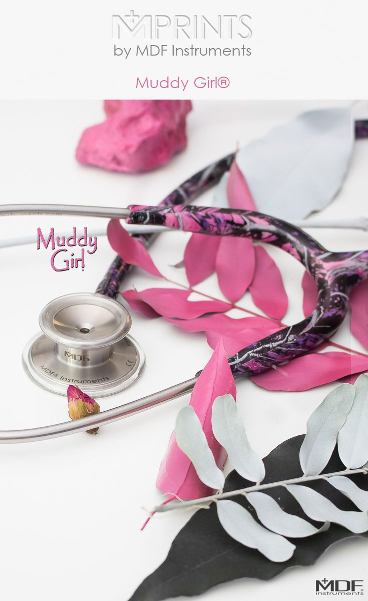 We are pleased to announce the newest member of the Muddy Girl collection!  Introducing the Muddy Girl MD One Stethoscope by @mdfinstruments! Check @mdfinstuments every two weeks for new special edition stethoscopes as part of their new Mprints Stethoscope line!  Available Here: https://www.mdfinstruments.com/muddy-girl-camo-stethoscope  #mdfinstruments #mprints #muddygirl #stethoscope #lifetimewarranty