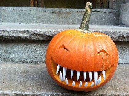 Loving these Pumpkin Teeth
