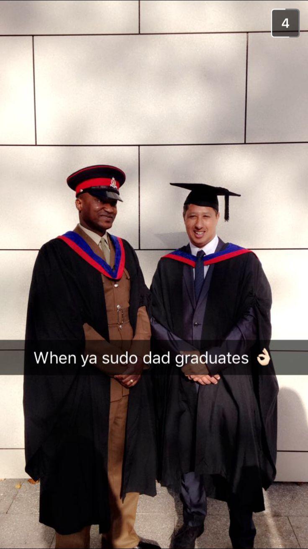 Ba honours degree graduation- Guildford 2016