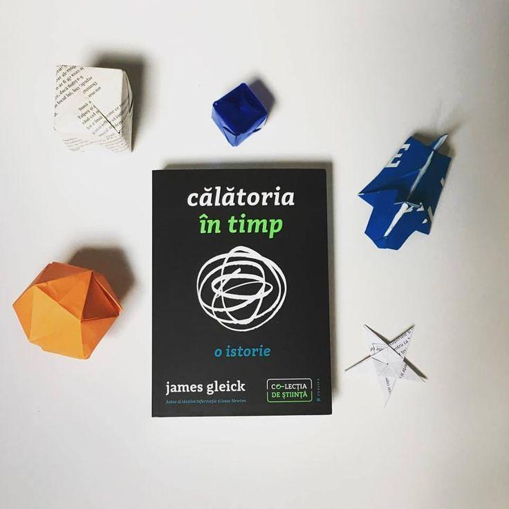 Noua carte semnată de James Gleick (Informația, biografia Isaac Newton) e o fuziune fascinantă de filosofie, fizică și observație culturală.  #timetravel #colectiadestiinta