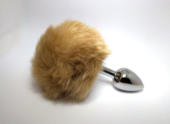 Do u like the sexy erotic games, maybe cosplay? Here is this super cute brown bunny butt plug! Surprise your boyfriend with this anal plug and he will marry you tomorrow!  You can even wear this bunny tail plug every day, when you are relaxing at home or when you are shopping at the supermarket, this intimate anal jewel will always stimulate you and it will keep you hot and bothered.  It's easy to use, insert the lubricated smooth tip and push gently. In a few seconds the jewel is placed and…