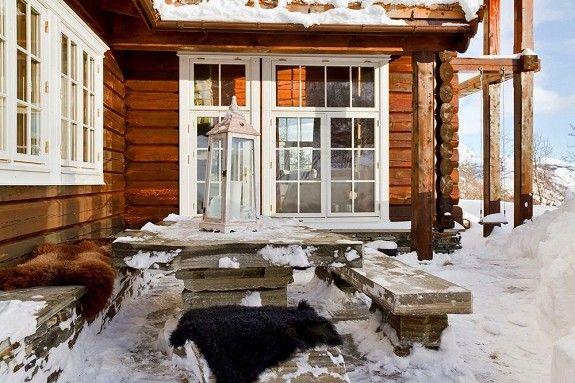 SKARSTUNET - flott tømmerhytte, ski inn/ut Hemsedal SkisenterEksklusive