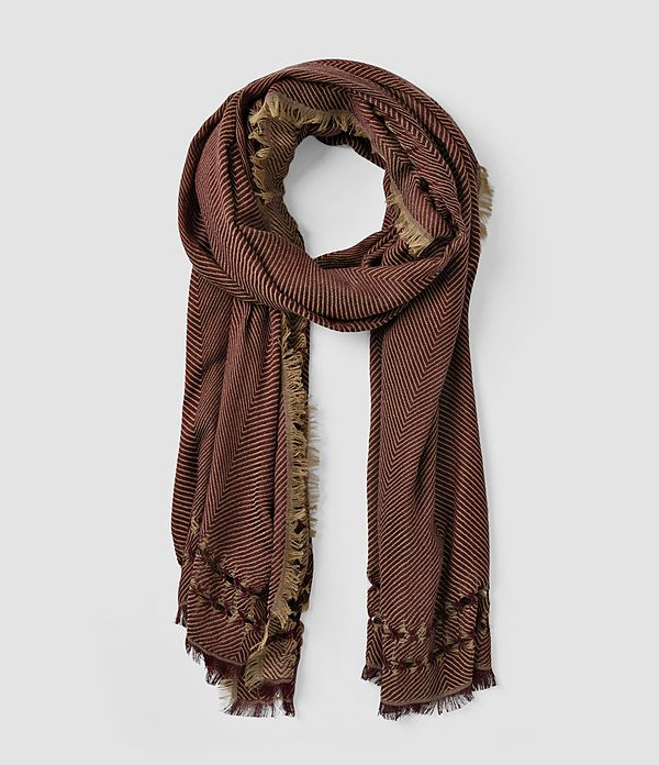 All Saints Women's Spine Scarf