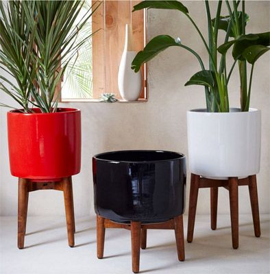 Planters from west elm