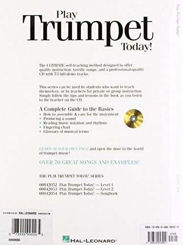 Play Trumpet Today! Beginner's Pack: Book/CD/DVD Pack (Play Today Instructional Series)