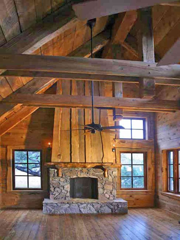 491 b sta bilderna om fireplaces p pinterest wabi sabi for Rustic log homes