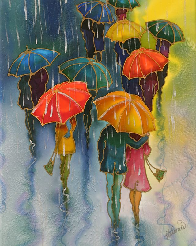Romantic Umbrellas