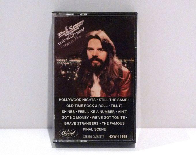 Etsy Your Place To Buy And Sell All Things Handmade Bob Seger Silver Bullet Cassette