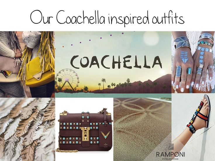Check out our Coachella inspired outfits. #Coachella2016 #Outfit #Ramponi #FashionTips #Studs