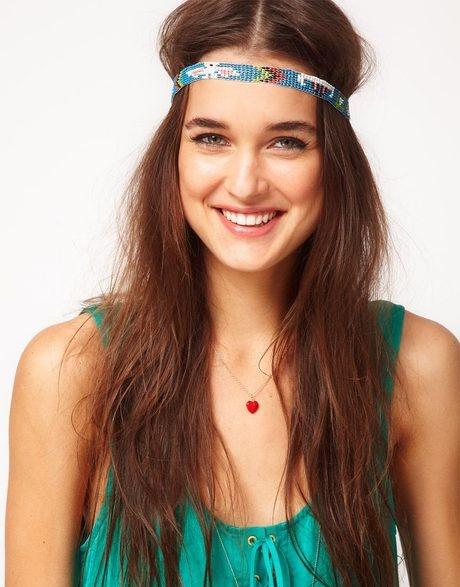 Aztec Seedbead Headband