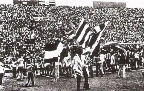 Primera celebración de un título en el Estadio Alejandro Villanueva.