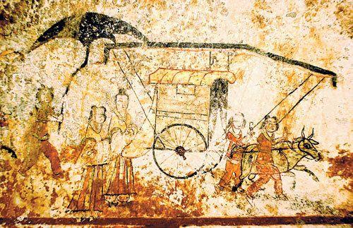 Goguryeo Tomb Mural - Deokheungri(408 A.D.) 덕흥리