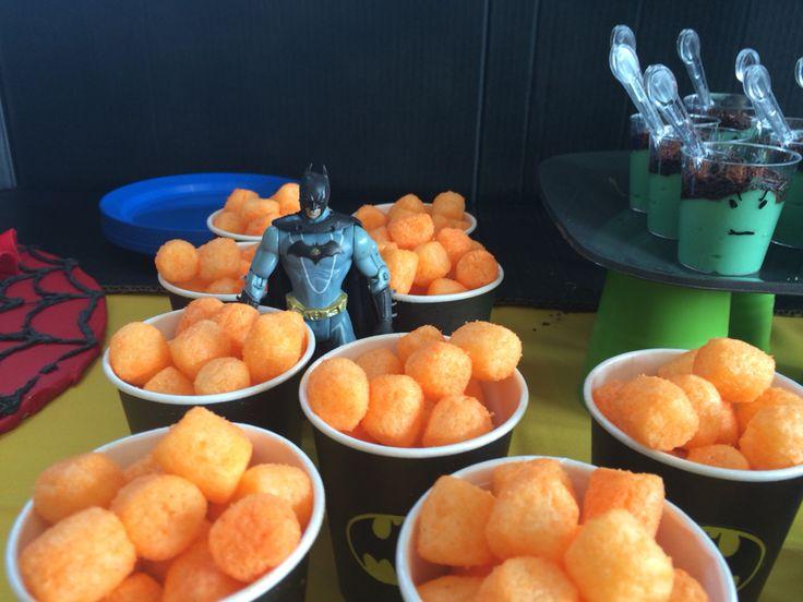 Batman fire balls