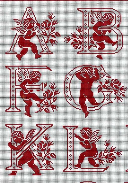 Estremamente 327 best Punto croce Angeli images on Pinterest | Cross stitch  SD68