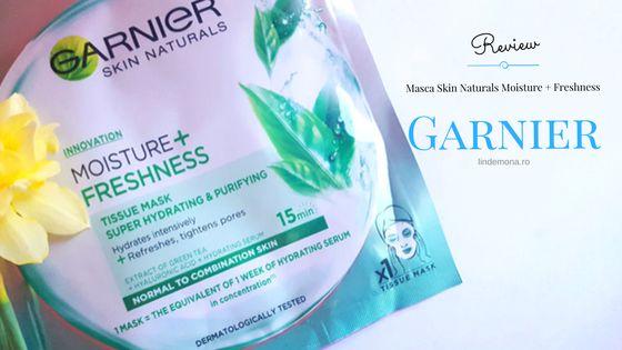 Review masca Garnier Skin Naturals parerea mea produs lindemona blog