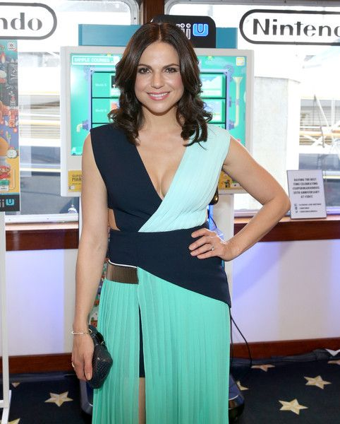 Lana Parrilla attends The Nintendo Lounge on the TV Guide Magazine yacht during Comic-Con International 2015 on July 11, 2015