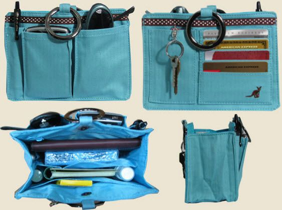 Make a tote bag more useful or organize your purse