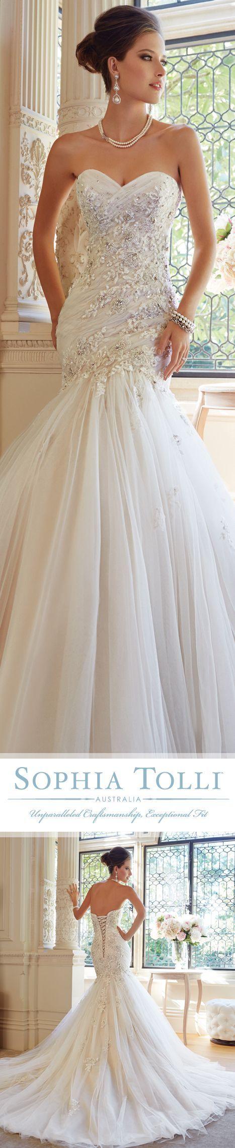 Tendance Robe De Mariée 2017/ 2018 : Bridal Dresses  »  Sophia Tolli