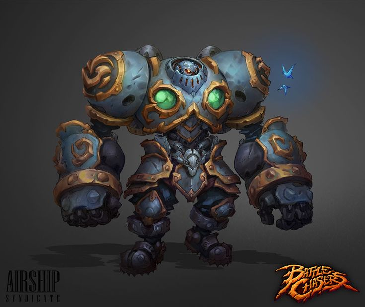 Dev Blog — Battle Chasers