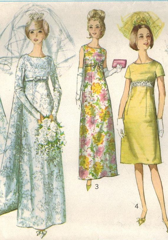 1960s Simplicity 6352 Vintage Sewing Pattern by midvalecottage