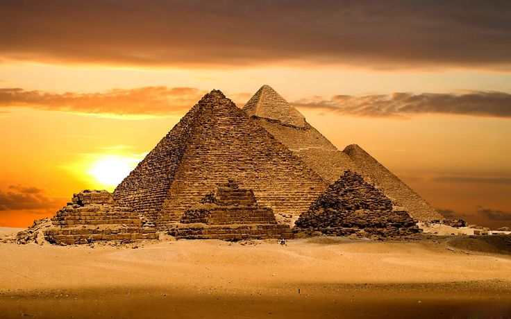 The Great Pyramid of Giza is without a doubt the greatest enigma in the world. Description from article.wn.com. I searched for this on bing.com/images