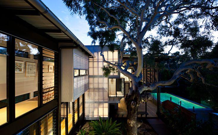 marcus beach house by bark design reflects coastal australian climate - designboom | architecture