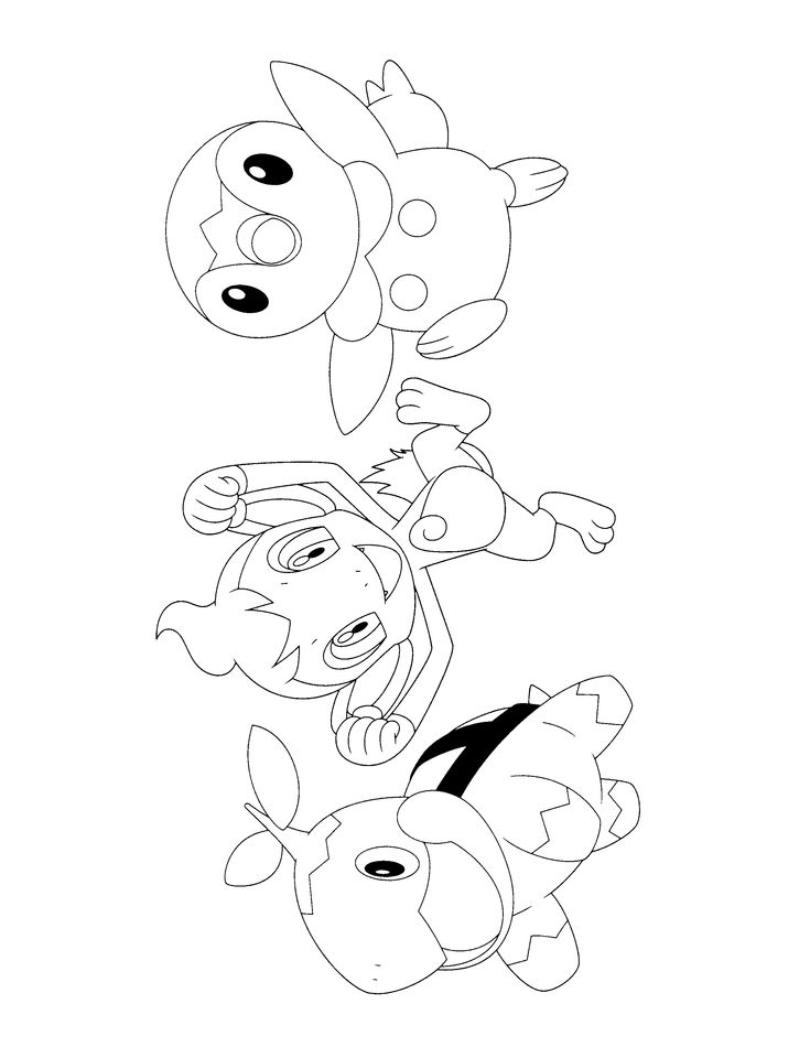 Hippopotas Pokemon Coloring Pages Images