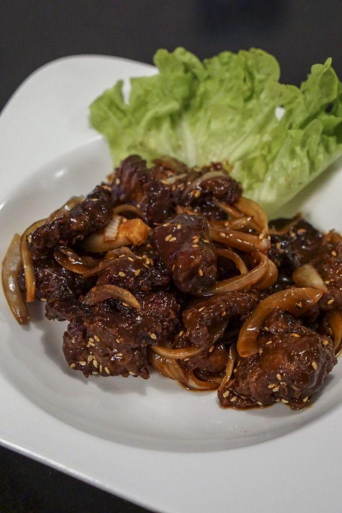 Bœuf croustillant aux sésame http://www.cuizinemaurice.com/2015/10/boeuf-croustillant-au-sesame/