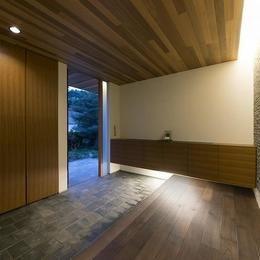 桑原町の家の部屋 玄関