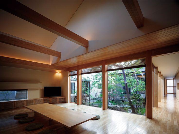 Modern japanese interior.