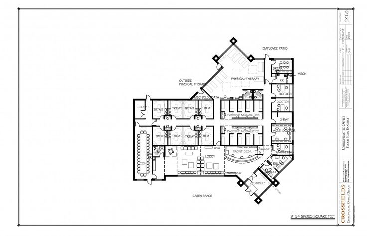 Chiropractic Space Plans