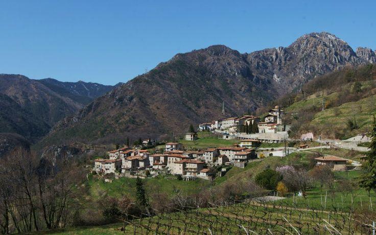 Tremosine, Sermerio, landscape