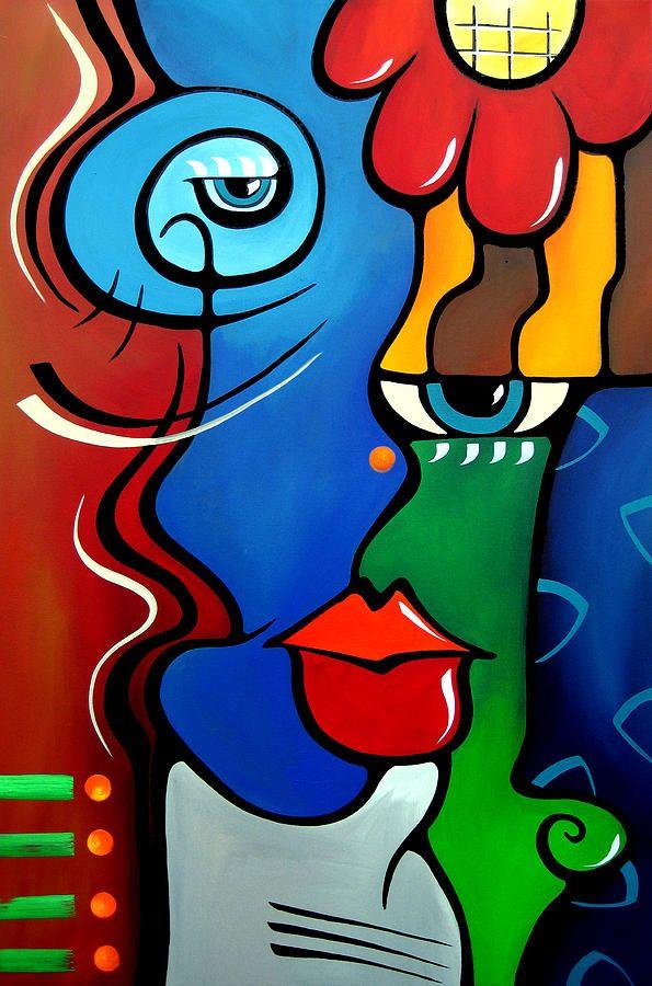 Tom Fedro Artist | Lover To Lover By Fidostudio Painting