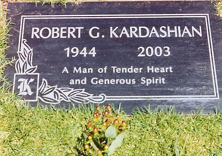 Robert Kardashian, Inglewood Park Cemetery, Inglewood, CA