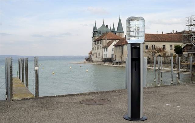 HOME 11L Cooler behind Steckborn's Castel on the lake Constance - Thurgovia